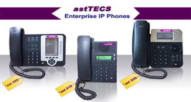 *astTECS IP PBX and IP PHONES